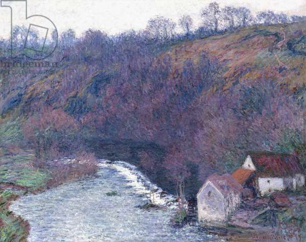 The Mill at Vervy, 1889 (oil on canvas)