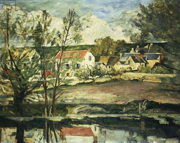 In the Valley of the Oise; Dans la Vallee de L'Oise, 1873-74 (oil on canvas)