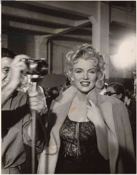 Marilyn Monroe, print from the archives of 'Silver Screen' magazine (litho)