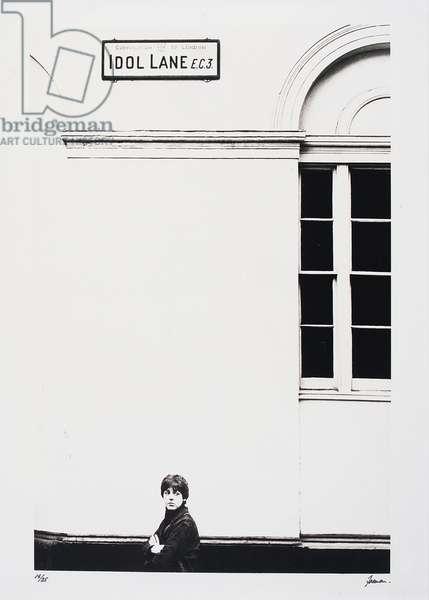 Idol Lane, 1965 (gelatin silver print)