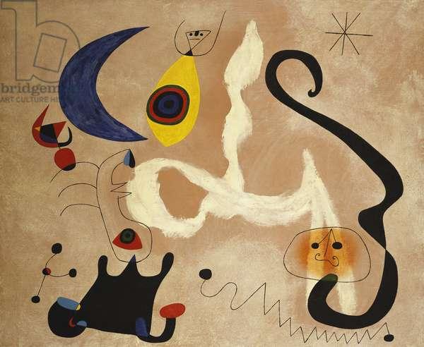 The Night; La Nuit, 1946 (oil on canvas)