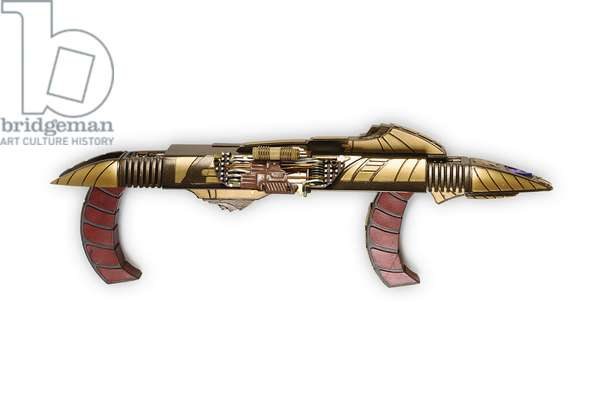 Cardassian rifle, made for 'Star Trek: Deep Space Nine', c.1993 (solid cast resin & metal)