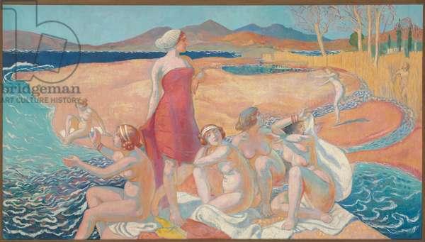The Awakening of Odysseus, 1914 (oil on canvas)