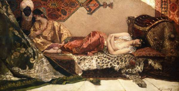 The Odalisque, 1882 (oil on canvas)