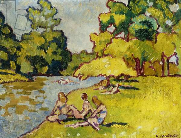 The Bathers; Les Baigneuses, 1938 (oil on canvas)