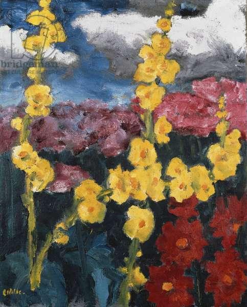 Small Flower Garden; Kleiner Blumengarten, 1951 (oil on canvas)