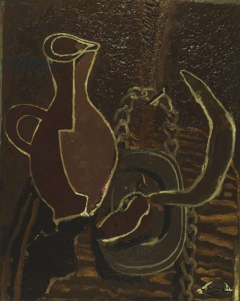 Still Life with Sickle; Nature Morte a la Faucille, 1944 (oil on canvas)