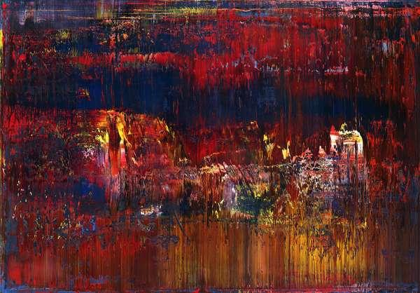Abstract Painting; Abstraktes Bild, 1987 (oil on canvas)