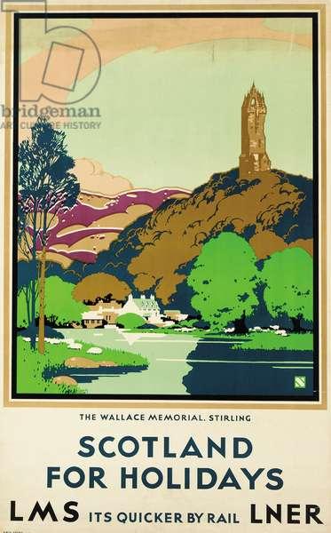 Scotland for Holidays, poster advertising British Railways (colour litho)