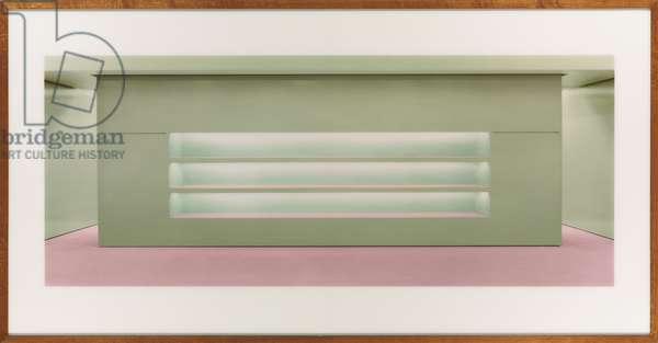 Prada II, 1997 (chromogenic colour-print face-mounted to Plexiglas, frame)