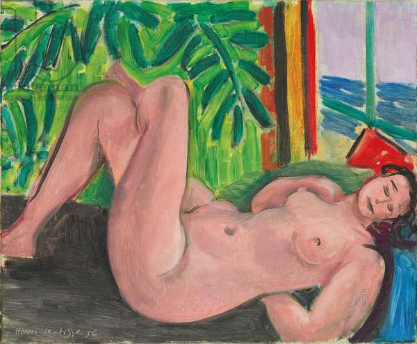 Nude with Crossed Legs, 1936 (oil on canvas)