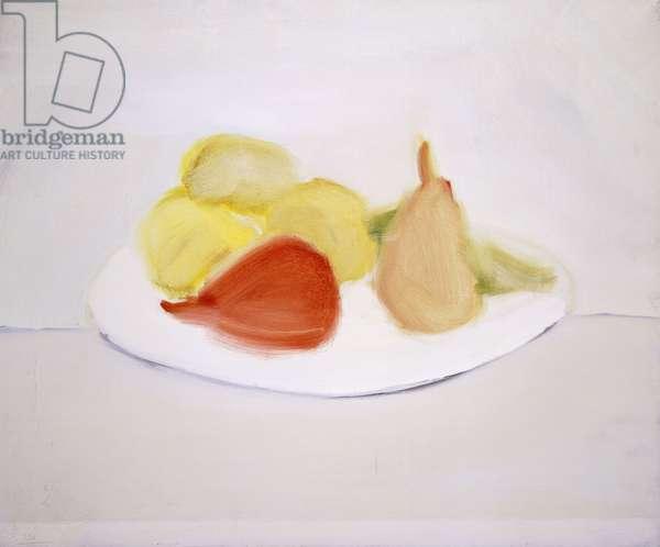 Fruits (Still life, fruits); Fruits (Nature morte, fruits), 1954 (oil on canvas)
