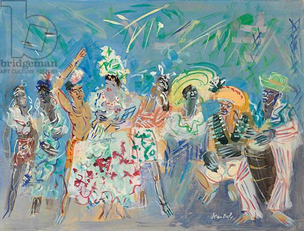 The Ballet of Katherine Dunham, c.1945 (gouache and watercolour on paper)