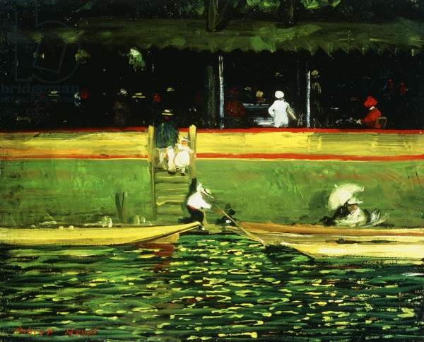 At Joinville, 1896 (oil on canvas)