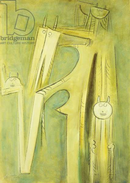 Untitled; Sin Titulo, 1959 (oil on canvas)