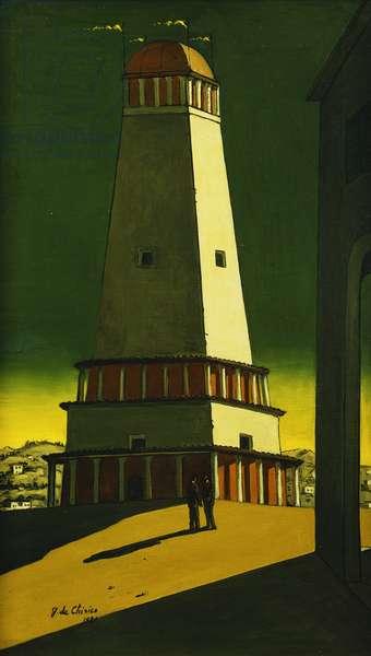 The Nostalgia of the Infinite; La Nostalgia dell'Infinito, 1921 (oil on canvas)