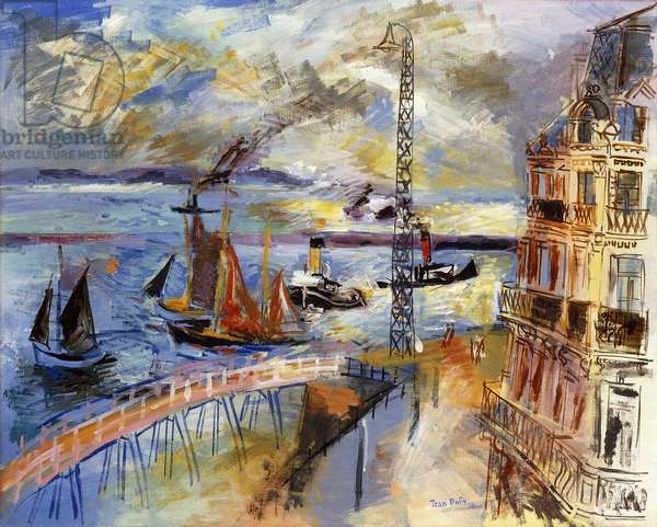 Le Havre, 1930 (oil on canvas)