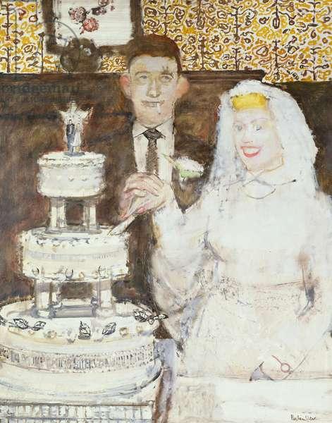 Marriage a la Mode (oil on board)
