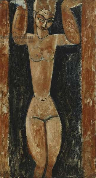 Caryatid; Cariatide, c.1911-1913 (oil on canvas)