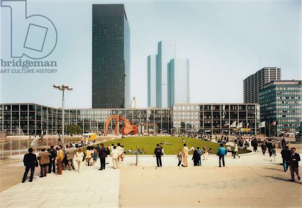La Defense, 1987 (colour coupler print)