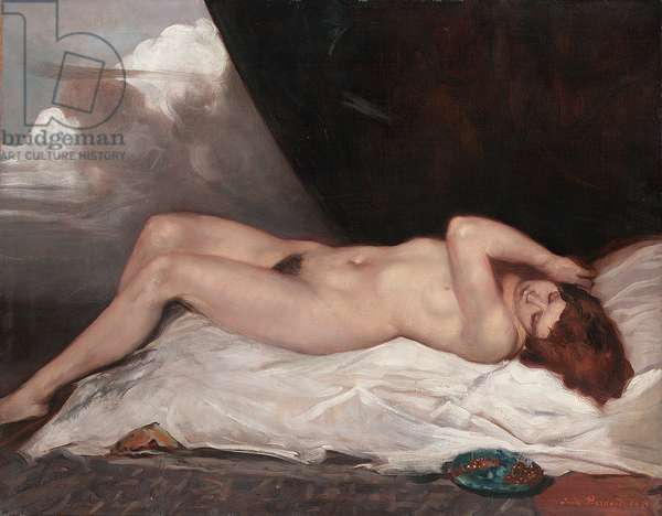 Nude with a Cup of Cherries, 1933 (oil on canvas)