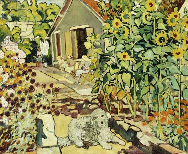 The House at Choisel; La Maison a Choisel,  (oil on canvas)