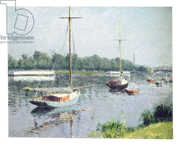Le Bassin d'Argenteuil, c.1882 (oil on canvas)