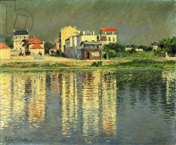Banks of the Seine at Argenteuil, 1889 (oil on canvas)