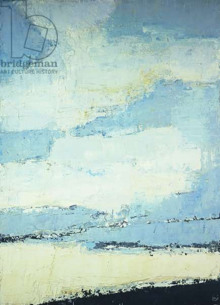 Sea and Clouds; Mer et Nuages, 1953 (oil on canvas)