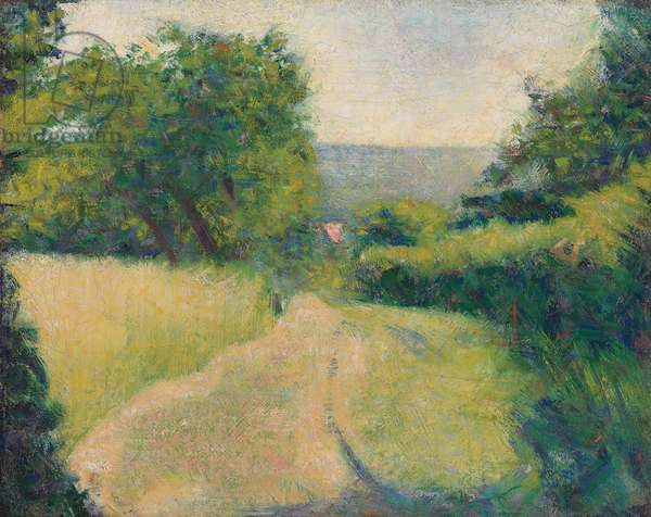 The Sunken Lane; Le Chemin creux, 1882 (oil on canvas)