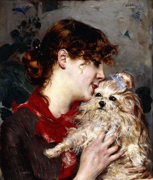 Madame Rejane, c.1885 (oil on canvas)