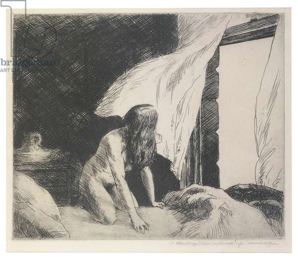 Evening Wind, 1921 (etching)