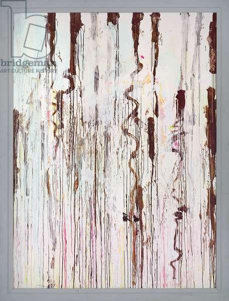 Untitled (Gaeta), 2004 (acrylic on wooden panel, frame)