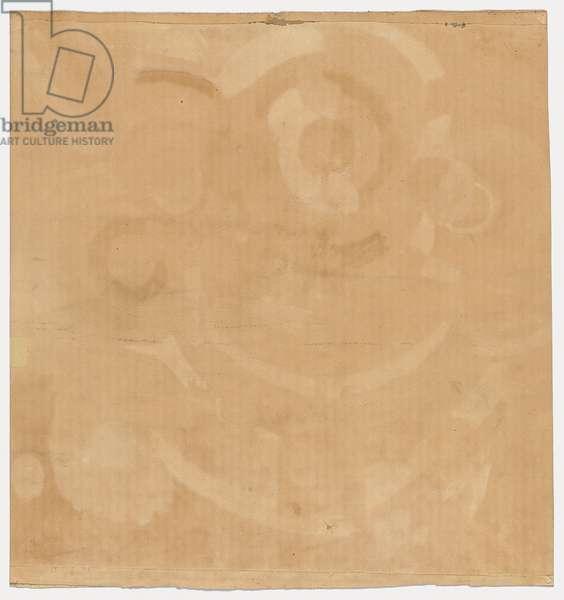 Manège de Cochons, 1905-18 (gouache & w/c on paper) (verso)