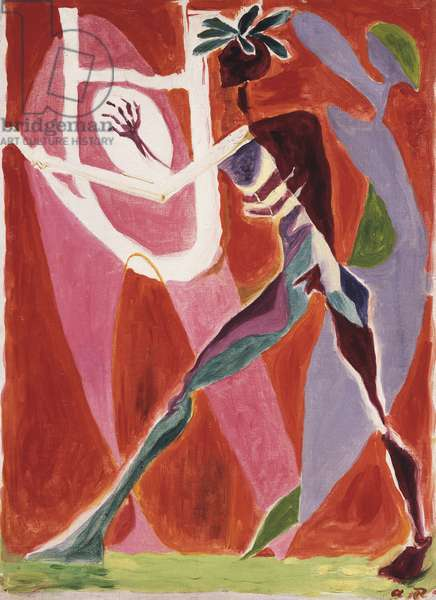 Orphee, 1934 (oil on canvas)