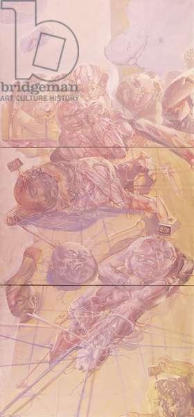 Untitled; Sans Titre,  (oil on canvas)