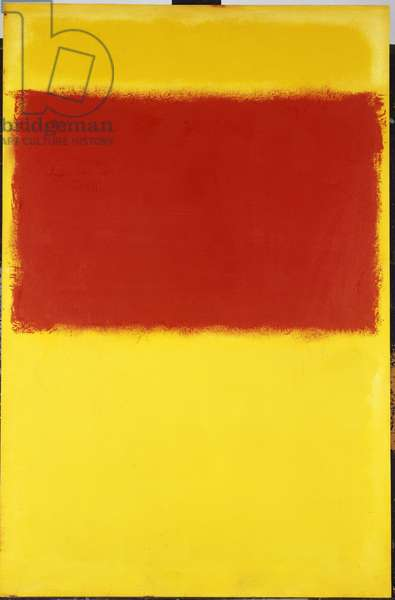 Untitled, 1959 (oil on paper mounted on masonite)