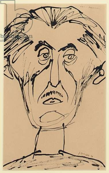 Portrait de Jean Paulhan, 1947
