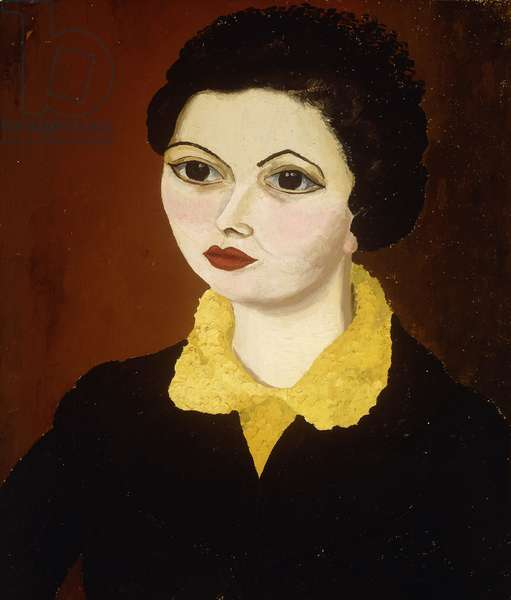 Milly Gomershall, 1936 (oil on canvas)