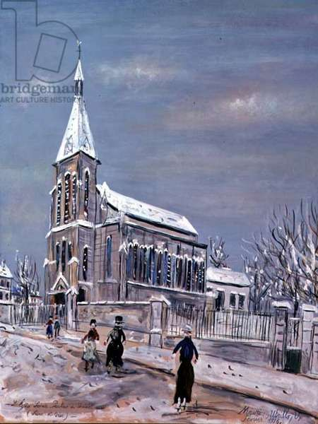 L'Eglise St. Pauline du Vesinet (Seine et Oise)
