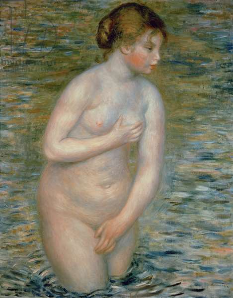 Nude in the Water, 1888 (oil on canvas)