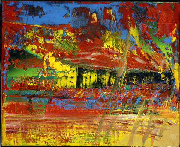 Untitled (608-3), 1986 (oil on canvas)