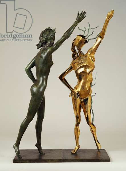 Homage to Terpsichord (The Dance) 1984 (bronze)