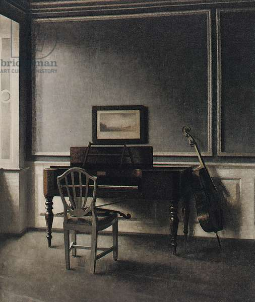 The Old Piano. Strandgade 30, 1907 (oil on canvas)