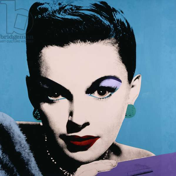 Judy Garland, 1978 (silkscreen inks and synthetic polymer on canvas)