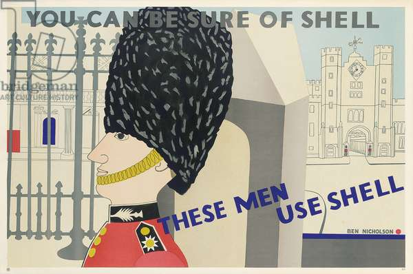 Advertising poster for Shell, 1938 (colour lithograph)