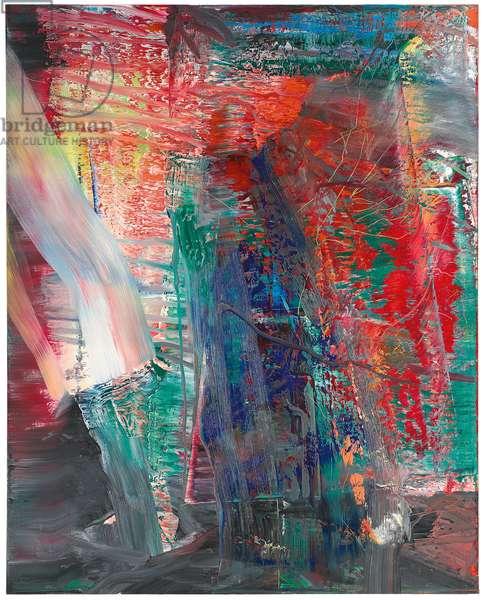 Abstract Painting; Abstraktes Bild, 1986 (oil on canvas)