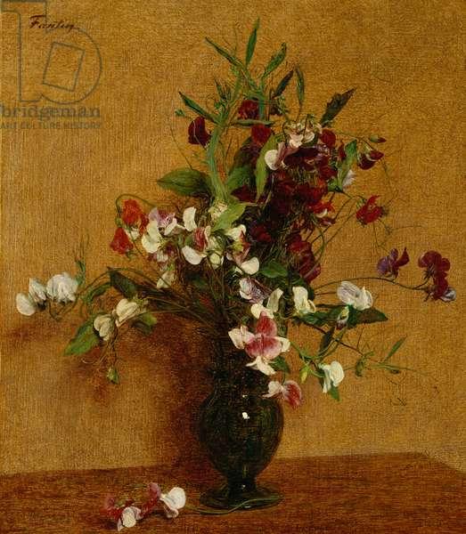 Sweet Peas; Pois de Senteur, 1888 (oil on canvas)