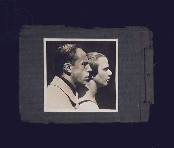 Nelly and Theo van Doesburg, 1921 (gelatin silver print)