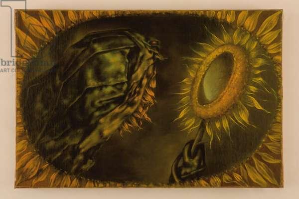 The Mirror; Le miroir, 1950 (oil on canvas)